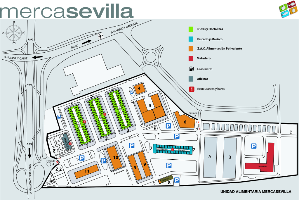 Plano de mercasevilla for Como crear un plano