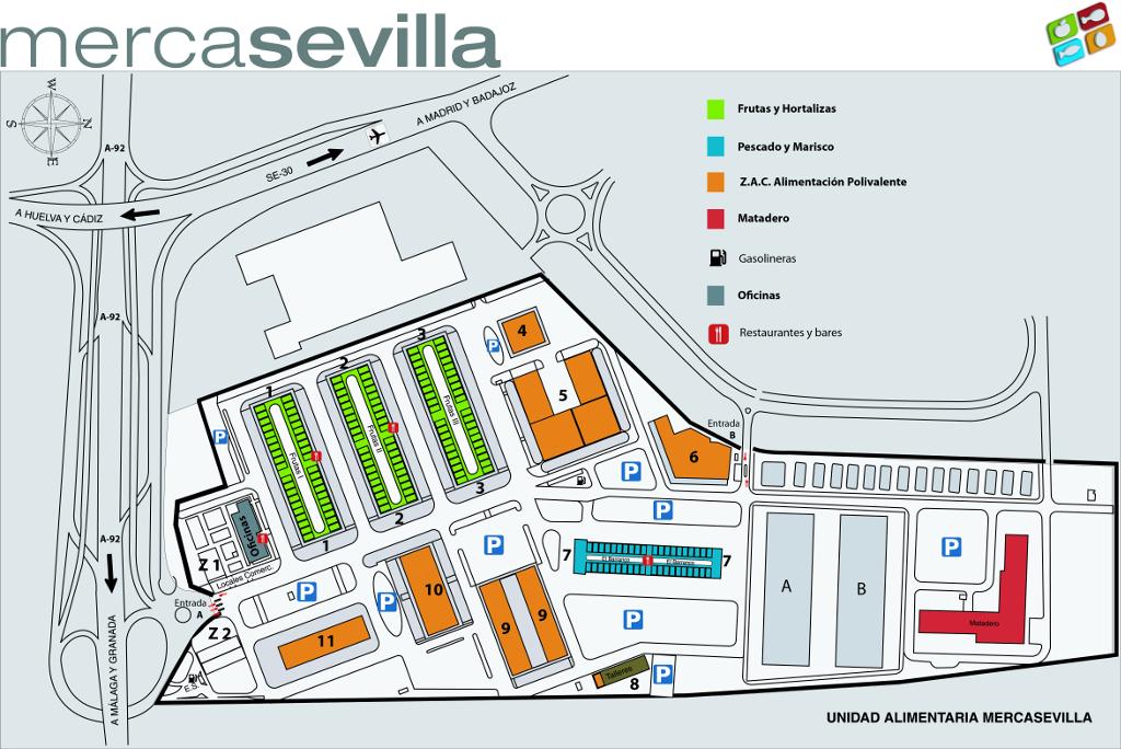 Localización De Una Casa En El Mapa: Plano De Mercasevilla